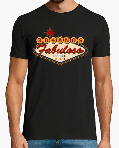 Tee-shirt 30 ans fabuleux