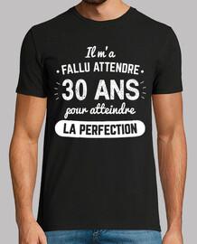 30 Ans Pour Atteindre La Perfection v1