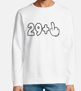 30 cumpleaños 29 1 dedo medio