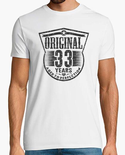 Camiseta 33 años originales envejecidos a la perfección