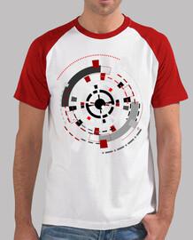 """""""El observador"""", Camiseta hombre, baseball, McHarrell original."""