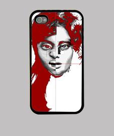 """""""Faces"""", funda iPhone, McHarrell original."""