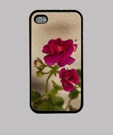 """""""Flores rosas"""", Funda iPhone, McHarrell original."""