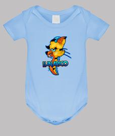 """""""Lunarico"""", Body bebé, EliFox Original"""