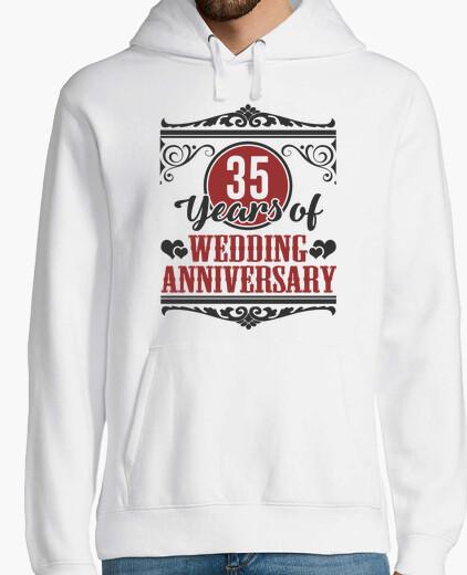 Sweat 35 ans d39anniversaire de mariage