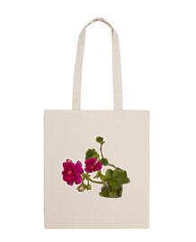 """""""fiori rosa"""", tracolla in cotone 100%, mcharrell originale."""