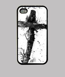 """la croce"", b & n, custodia per iphone, originale mcharrell."