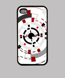 """the observer"", custodia per iphone, originale mcharrell."