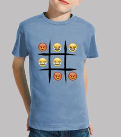 3 en raya edition emoji emoticono niños