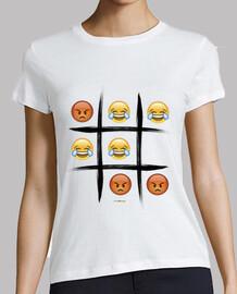 3 en raya emoji edition chica