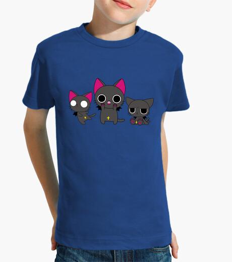 Ropa infantil 3 gatitos góticos