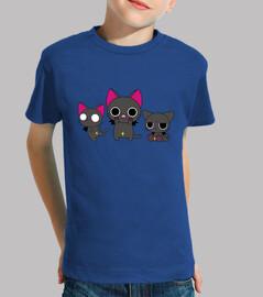 3 gatitos góticos
