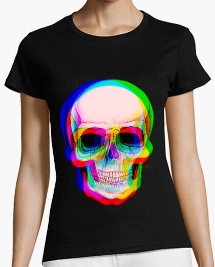 Tee-shirt 3d  tête de mort  !!!