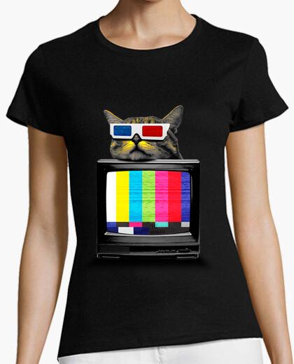 3d kitty t-shirt