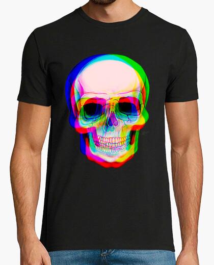 3d skull t-shirt