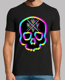 3d skull pop