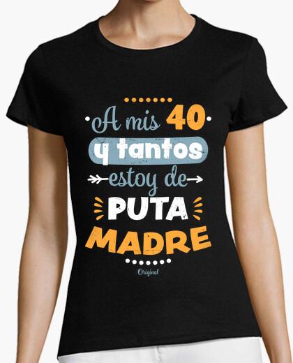 T-Shirt 40-jährigen