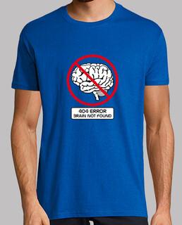 404 error cerveau not found t-shirt