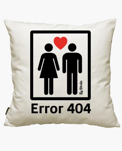 Housse de coussin 404 (noir)