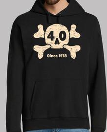 40  années  crâne depuis 1978