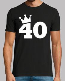 40 ° compleanno corona
