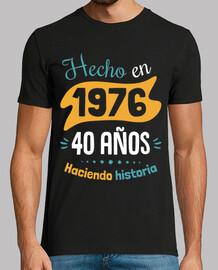 40 anni che fanno la storia