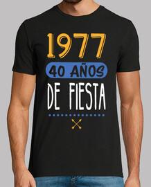 40 anni del partito. 1977