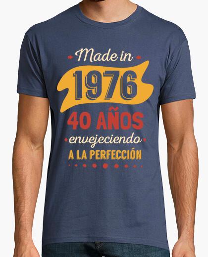 T-shirt 40 anni di invecchiamento alla perfezione