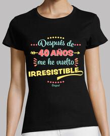 40 anni irresistibile