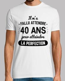 40 anni per raggiungere la perfezione v2