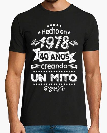 Camiseta 40 años creando un mito. 1978