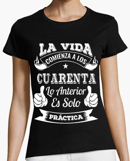 Camiseta 40 AÑOS DE PRÁCTICA