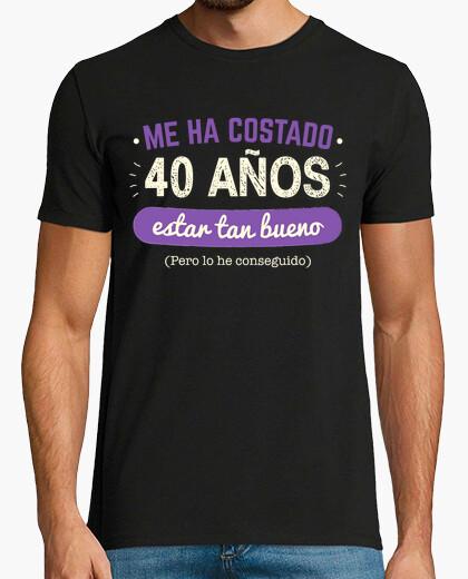 Camiseta 40 Años Para Estar Tan Bueno, 1980