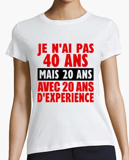 Tee-shirt 40 ans