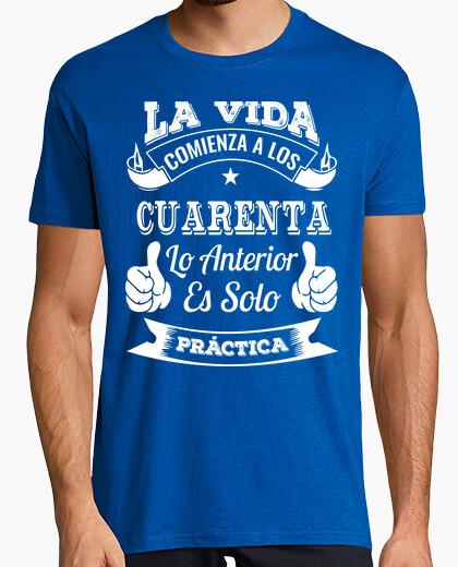 Tee-shirt 40 ans de pratique