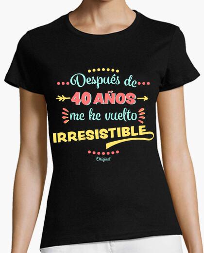 Tee-shirt 40 ans irresistible
