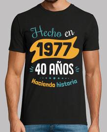 40 ans l' histoire de la fabrication