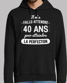 40 Ans Pour Atteindre La Perfection v1