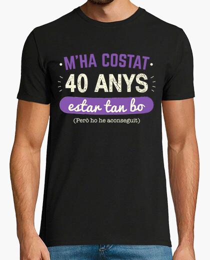 Tee-shirt 40 anys, 1980, catalan