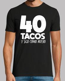 40 birthday gift tacos