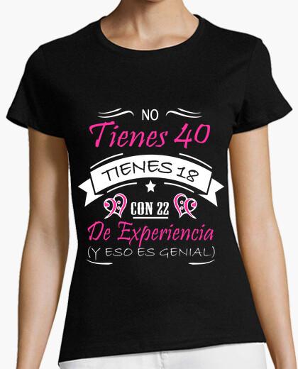 Camiseta 40 CON EXPERIENCIA