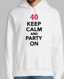 40 cumpleaños mantén la calma y ve de f