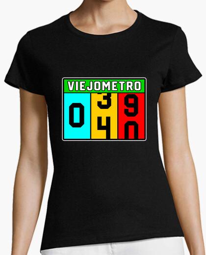 Camiseta 40 Cumpleaños Viejo-Metro
