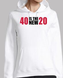 40 es el nuevo 20 cumpleaños