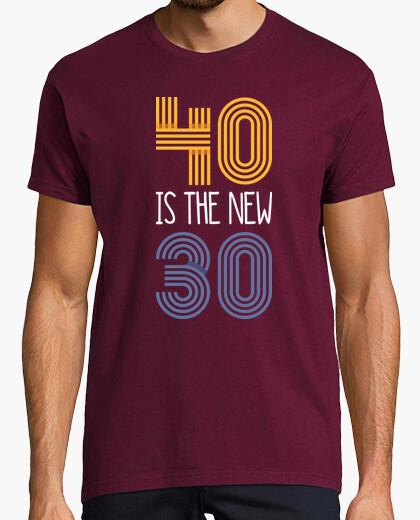 Tee-shirt 40 est le nouveau 30, 1980