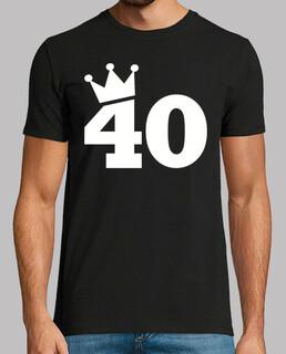 40 Geburtstag Krone