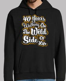 40 Jahre wilde Seite