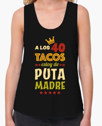 Camiseta 40 Tacos