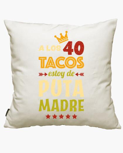 Funda cojín 40 Tacos