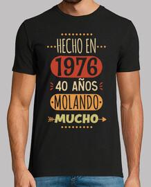 40 years molando a lot. 1976